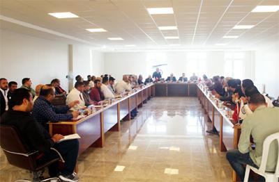 Suriye ile ticareti geliştirme toplantısı