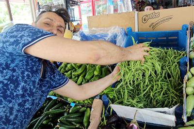 yerli-salatalik-ve-fasulye-pazara-indi